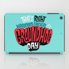 It's Groundhog Day! iPad Case