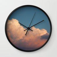Skies 02 Wall Clock