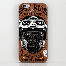 Vintage Beast Rider iPhone & iPod Skin