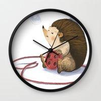 Hedgy Wall Clock