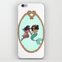 Mermaid Crush iPhone & iPod Skin