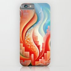 Hibiscus City iPhone 6 Slim Case