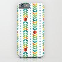Simple flower Pattern iPhone 6 Slim Case