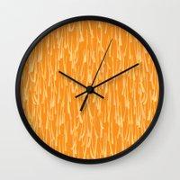 Spring Shower Wall Clock