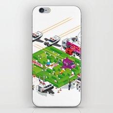 PACMAN crime scene iPhone & iPod Skin