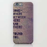iPhone & iPod Case featuring Here & There by Leah Flores