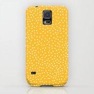 YELLOW DOTS Galaxy S5 Slim Case
