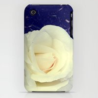 iPhone Cases featuring Secret Garden | Pure White by Hisame Artwork