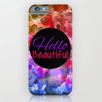 HELLO BEAUTIFUL Colorful… iPhone 6 Slim Case