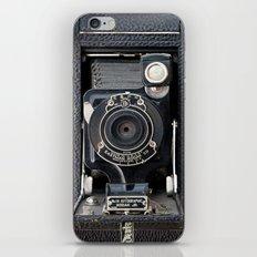 Vintage Autographic Kodak Jr. Camera iPhone & iPod Skin