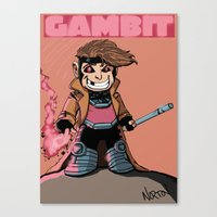 Kiddie Gambit Canvas Print