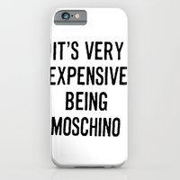 iPhone & iPod Case featuring It's Very Expensive Being Moschino by RickyRicardo787
