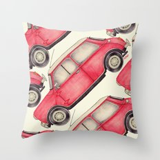 Original Austin Mini - Ballpoint Pen Throw Pillow