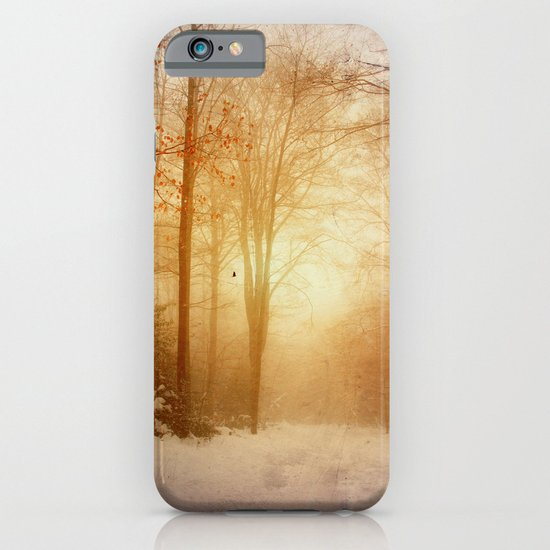 warm wintEr glOw iPhone & iPod Case