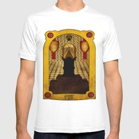 The Hall Of The Mountain… Mens Fitted Tee White SMALL