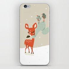 Winter Deer iPhone & iPod Skin