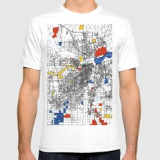 Kansas City  Mens Fitted Tee White SMALL