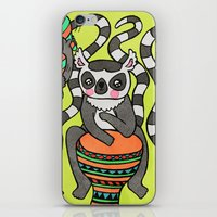 Dancing Lemurs iPhone & iPod Skin