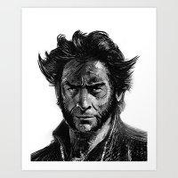 'W' Art Print