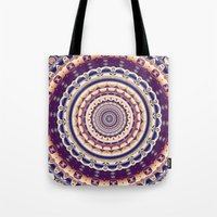 Abstractions in colors (Mandala) Tote Bag
