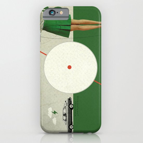 Blame The Sunshine   Collage iPhone & iPod Case