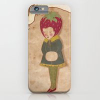 iPhone & iPod Case featuring Strawberry head  by Natalia Ogneva