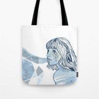 Lavender Diamond Tote Bag