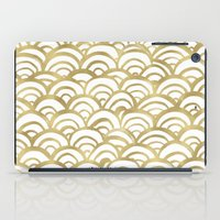 Gold Scallop iPad Case