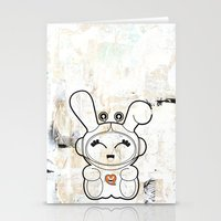 Space Bunny Stationery Cards