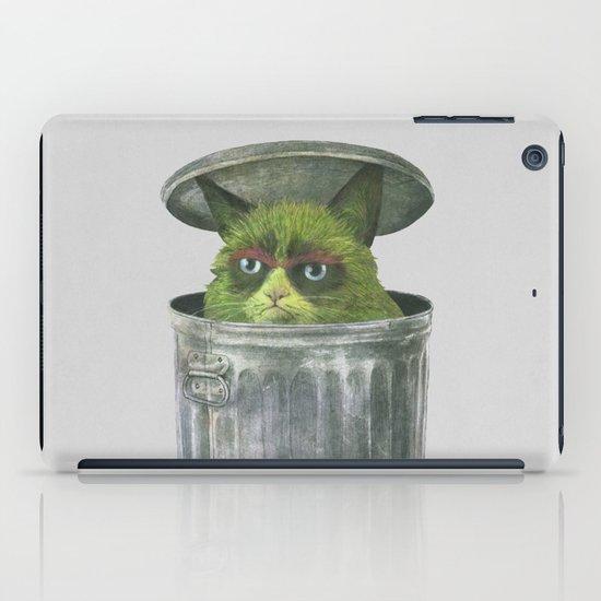 Grouchy Cat  iPad Case