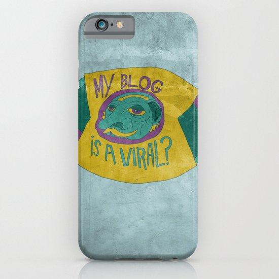 MAKE IT GO VIRUS iPhone & iPod Case