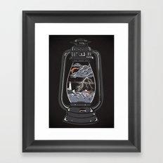 Storm Lantern... Framed Art Print