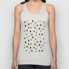 Pinpoint Dots Unisex Tank Top