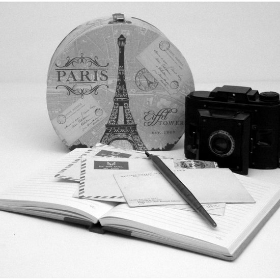 Love Letters From Paris 3 Art Print