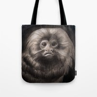 Golden Lion Tamarin Tote Bag