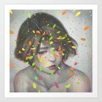 Art Prints featuring Colours 02 by Lek Chan