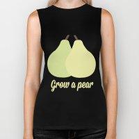 Grow a Pear Biker Tank