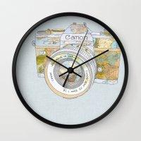 Travel Canon Wall Clock