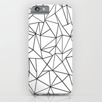 Abstract Outline Black O… iPhone 6 Slim Case