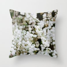 Bridal Veil Throw Pillow