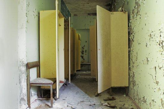 Chernobyl - вбиральня Canvas Print