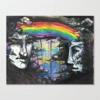 If We Were Rainclouds Canvas Print