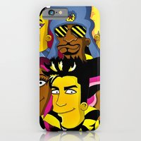 iPhone & iPod Case featuring WE ARE GLAMILY (the Simpsons version) by ArtEleanor