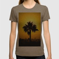 Echo Park Series #7 Womens Fitted Tee Tri-Coffee SMALL
