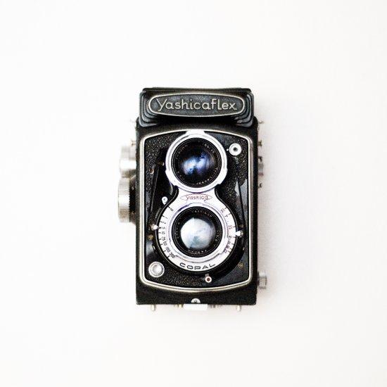 Yashica Retro Vintage Camera Art Print