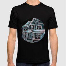 Home, Bright Home Mens Fitted Tee Black SMALL