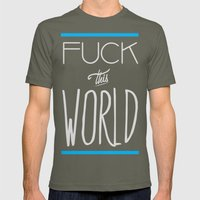 The World Mens Fitted Tee Lieutenant SMALL