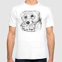 Plastic Fangs Collective Mens Fitted Tee White SMALL