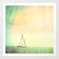 A day at Sea Art Print