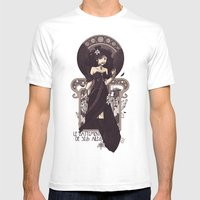 The Sound Of Her Wings Mens Fitted Tee White SMALL
